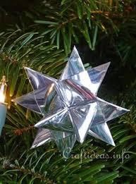 december challenge papercraft ornaments german