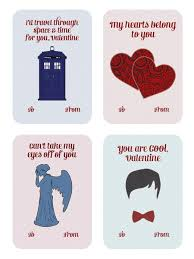 dr who valentines day cards doctor who s day card diy printable card for