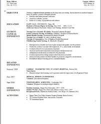 Additional Activities Resume New Grad Rn Resume 19 New Grad Nursing Resume Template