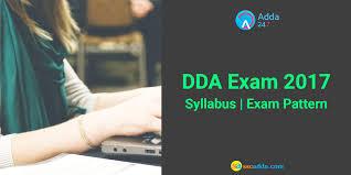 dda admit card dda exam pattern u0026 syllabus sample test