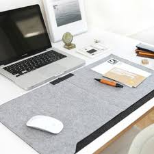 Laptop Cushion Desk Felt Desk Mat Mouse Pad Pen Holder Wool Felt Laptop Cushion Whph