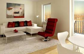 living room ideas red black and white interior design