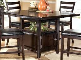 dining table set with storage counter height dining table with storage venkatweetz me
