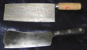 Kitchen Knives Wiki File And American Cleavers Jpg Wikimedia Commons