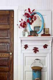 How To Decorate Your Home For Fall 35 Fall Mantel Decorating Ideas Halloween Mantel Decorations
