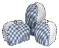 quilted kitchen appliance covers blue gingham quilted kitchen appliance cover gingham check check