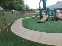 playground turf with foam pads progreen synthetic grass