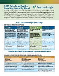pqrs registries pqrs comparison practice insight