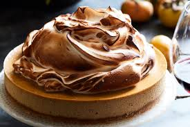 pumpkin cheesecake with marshmallow meringue what s gaby cooking