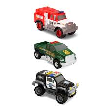 tonka fire rescue truck tonka 3 pack vehicles police suv fire rescue park ranger truck