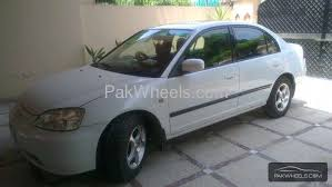 honda civic 2001 sale honda civic vti oriel prosmatec 1 6 2001 for sale in lahore