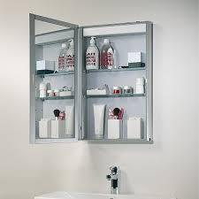 Bathroom Cabinets With Mirrors Roper Equinox Single Glass Door Bathroom Mirror Cabinet
