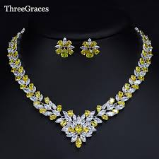 stone necklace set designs images Threegraces marquise design nigerian african wedding jewelry jpg