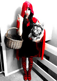 Little Red Riding Hood Makeup For Halloween by Was I Not Supposed To Little Dead Riding Hood Has