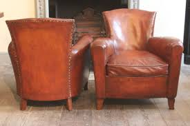 Antique Leather Sofas Good Pair Of 1930s French Leather Club Chairs Leather Armchairs