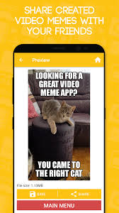 Meme Caption Font - video gif memes free android apps on google play
