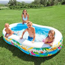 Intex Inflatable Pool Intex 56490ep Swimcenter Paradise Seaside Pool For Ages 3 And Up