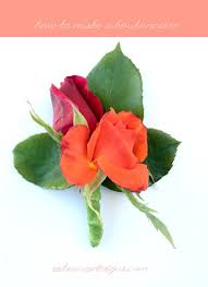 How To Make Boutonnieres Diy Boutonniere And Corsage U2013 Satsuma Designs