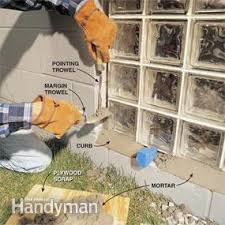 installing glass block windows in basement family handyman