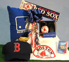 baseball gift basket boston sox baseball themed sports gift basket
