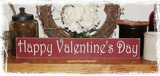 happy valentine u0027s day wood sign home decor holiday decoration