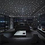 chambre ciel étoilé diy autocollant motif ciel étoilé 100 étoiles décoratives sticker