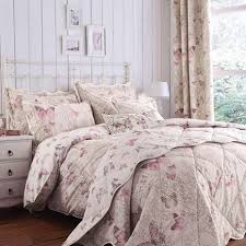 Dunelm Mill Duvets Botanica Butterfly Blush Reversible Duvet Cover And Pillowcase Set