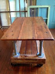 galvanized pipe table legs reclaimed wood coffee table crate dolley galvanized pipe metal
