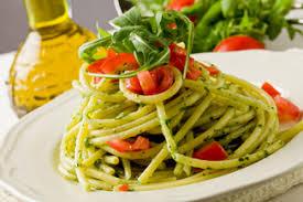 cuisine pates pâtes au pesto de roquette cuisine italienne cuisine italienne