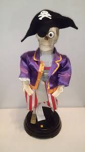 gemmy head be holder pirate skeleton dancing singing talking