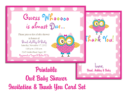 baby shower gift card thank you card samples baby shower favors