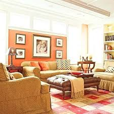 Family Room Curtains Coral Living Room Colorful Family Room The Windows In