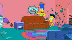 dans le canapé gags du canapé de la saison 21 the simpsons park toute l