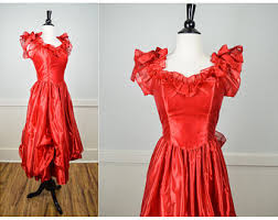 Eighties Prom Dresses 80s Prom Dress Etsy
