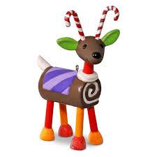 santa s sweet reindeer ornament keepsake ornaments hallmark