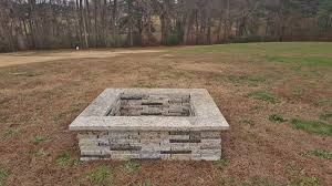 Granite Fire Pit by Square Granite Fire Pit