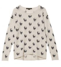 skull sweater wornontv s skull print sweater on pretty liars