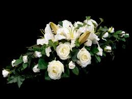 Casablanca Lily White Rose And Lily Wedding Centre Piece