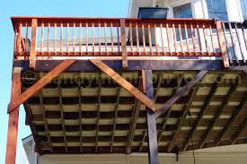 deck bracing deks and tables decoration
