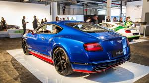 matte blue bentley 2017 bentley continental gt speed unveiled in nyc drivers magazine