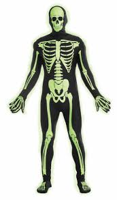 Boys Skeleton Halloween Costume Skeleton Teen Boys Costume Glow In The Dark Skeleton Costume