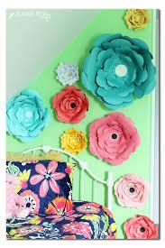 Flower Wall Decor Big Bloom Paper Flower Wall Decor Sugar Bee Crafts