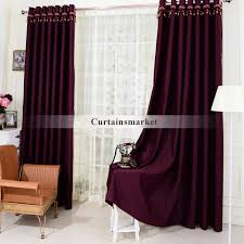 Blackout Curtains Black Purple Window Panels Curtains In Cool For Blackout