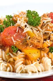 italian sausage and pepper pasta kitchme