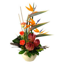flower arrangements out of africa modern ethnic flower arrangement inmotion flowers