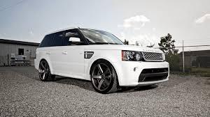 white range rover wallpaper cars wallpapers land rover sport white tuning vossen wheels