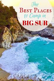 best places to c in big sur
