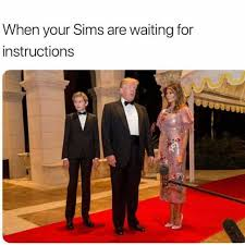 Sims Meme - dopl3r com memes when your sims are waiting for instructions