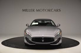2016 maserati granturismo rear 2016 maserati granturismo sport test drive special stock m1452