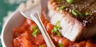comment cuisiner le thon thon blanc à la concarnoise facile recette sur cuisine actuelle